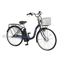 【自転車】《丸石サイクル》電動アシスト自転車 26インチ ビューアシスト インクブルー