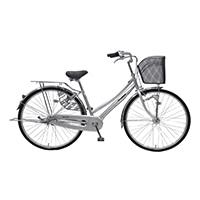 【自転車】《丸石サイクル》モディビー 27型 内装3段 T966 シルバー