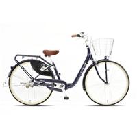 【自転車】《丸石サイクル》フリーパワーサラダS 26型 内装3段 S494 パープル