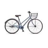 【自転車】《丸石サイクル》フリーパワー アミティ 27型 内装3段 S501 グレー