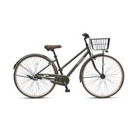 【自転車】《丸石サイクル》フリーパワー アミティ 27型 内装3段 S502 カーキ
