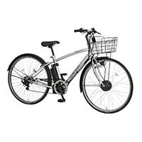 【自転車】《丸石サイクル》ビュー スポルティーボ 27クロスアシスト 7段変速 W600 シルバー