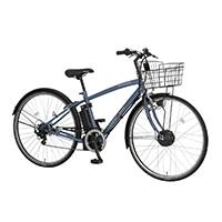【自転車】《丸石サイクル》ビュー スポルティーボ 27クロスアシスト 7段変速 W602 サンドブルー