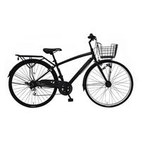 【自転車】《丸石サイクル》ブラックパンサー 27型・外装6段 耐摩耗タイヤ W824 ブラック