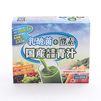 ユーワ 乳酸菌+酵素国産大麦若葉青汁 30包
