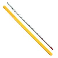 棒状温度計 H-5 アルコール0〜100℃ 30cm
