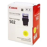 Canon トナーカートリッジ502 イエロー  9642A001【別送品】