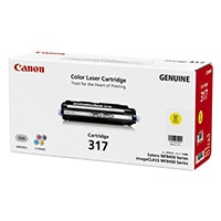 Canon カートリッジ317 イエロー  2575B003【別送品】