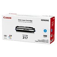 Canon カートリッジ317 シアン  2577B003【別送品】