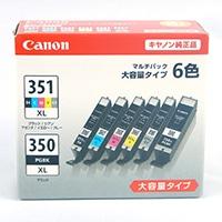 キヤノン 大容量インクカートリッジ6色パック BCI-351+350 6MP