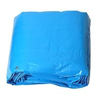 #3000ターピーシート ブルー 15×15m【別送品】