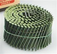 カラー連結N釘 DFC34−75 キミドリ