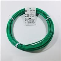 カラー針金 #8×14m ミドリ(1kg)
