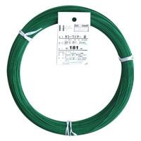 カラー針金 #18×186m ミドリ(1kg)