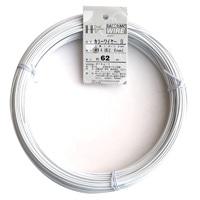 カラー針金 #14×62m シロ(1kg)
