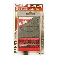 ナチ 鉄工用ドリルセット13PC NDS−13
