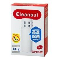 浄水器 クリンスイ ポット型カートリッジ2個入り CPC5W-NW