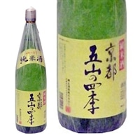鶴正宗京都五山の四季純米酒 1.8L【別送品】