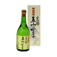 鶴正宗 京都五山の四季 純米酒 720ml【別送品】