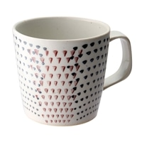 【trv・数量限定】≪波佐見焼≫勲山窯 マグカップ 二色カンナ(紫)