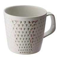 【trv・数量限定】≪波佐見焼≫勲山窯 マグカップ 二色カンナ(赤)