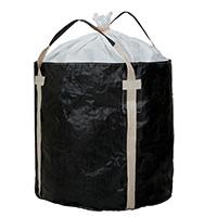 <ケース販売用単品JAN> フレコンバッグ 丸型 1100KHR-BW【別送品】