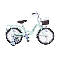 【自転車】【全国配送】パステルチャーム 16インチ グリーン【別送品】