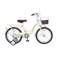 【自転車】【全国配送】パステルチャーム 16インチ イエロー【別送品】
