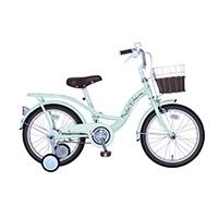 【自転車】【全国配送】パステルチャーム 18インチ グリーン【別送品】