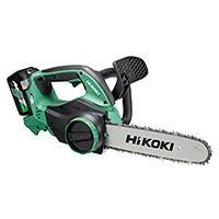 HiKOKI 36Vチェンソー  CS3630DA(2XP) 蓄電池2個付き