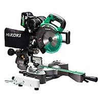 HiKOKI 36V190mmスライド丸のこC3607DRA(XP) 蓄電池1個付き