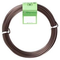 盆栽用アルミ線300g茶 1.0ミリ
