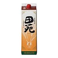 田苑 麦 25度 パック 1800ml【別送品】