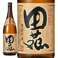 田苑 黒麹 甕壷貯蔵 麦 25度 1800ml【別送品】