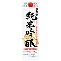 谷乃越 純米吟醸酒 パック 1800ml