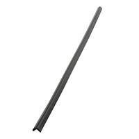 安心クッションL字型90cm 細 ブラック