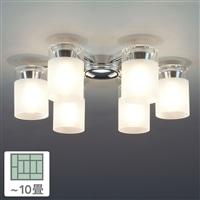 シャンデリア6灯 10畳 CD−4279−L
