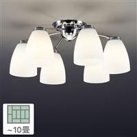 シャンデリア6灯 10畳 CD-4281-L