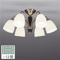 シャンデリア6灯 12畳 CD-4300-L