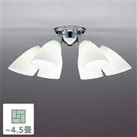 シャンデリア6灯 4.5畳 CD-4303-L