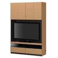 壁面テレビボード ポルターレ POR-1812TV NA【別送品】