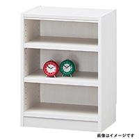 書棚 タナリオ TNL-6044 WH【別送品】