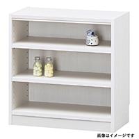 書棚 タナリオ TNL-6059 WH【別送品】