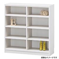 書棚 タナリオ TNL-9087 WH【別送品】