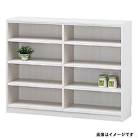 書棚 タナリオ TNL-90117 ホワイト【別送品】