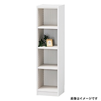 書棚 タナリオ TNL-1231 WH【別送品】