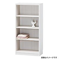 書棚 タナリオ TNL-1259 WH【別送品】