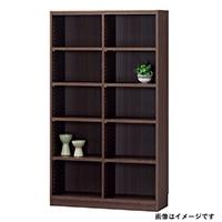 書棚 タナリオ TNL-1587 DK【別送品】