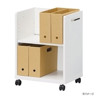 デスク周りワゴン オフィスコ2 OF2-6045P【別送品】