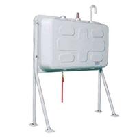 【SU】屋外用ホームタンク195型 壁寄せ片面タイプ HT-K195VH(小出し仕様)